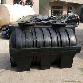 山东2吨耐酸碱塑料化粪池三格化粪池一体化粪池成品化粪池价格