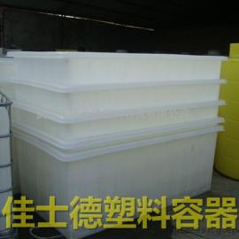 5000L塑料方箱 鱼苗养殖箱 5吨塑料方形水箱