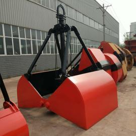 低净空葫芦单速抓斗XZ5重型0.5立方水下作业氧化铁抓具