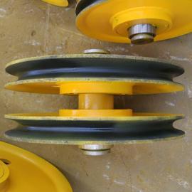 焊接滑轮组 起重提升滑轮 10t轧制动滑轮