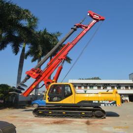 海峨钻桩18米小型旋挖机