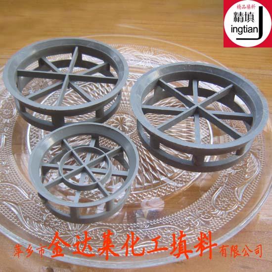 塑料短阶梯环填料 PP CPVC PVC短阶梯环填料厂家
