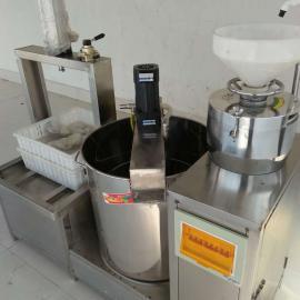 全自动多功能花生豆腐机 果蔬豆腐加工 浙江地区 豆制品机械