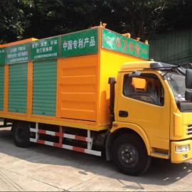 污水处理车,东风多利卡污水处理车工程黄,多功能吸污车厂家