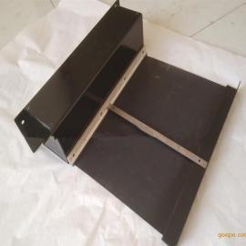 卷帘防护罩 箱体式支架式自动伸缩式防护罩 机床导轨伸缩卷帘