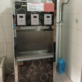 威可利厂家供应三龙头刷卡开水器_校园刷卡饮水机***批发