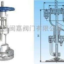 保温放料阀 BFL46-16P上展式保温放料阀