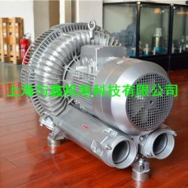 上海造纸厂污水处理设备专用高压风机.污水曝气专用旋涡气泵
