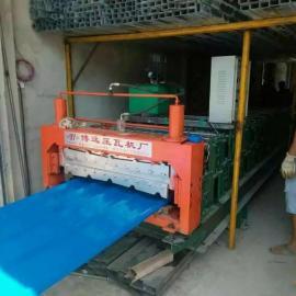 双层压瓦机出产厂家 淄博彩钢全自动成型设备报价优