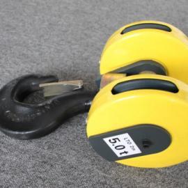欧式吊钩组生产厂家 3.2t双轮欧式吊钩组 绳径6mm