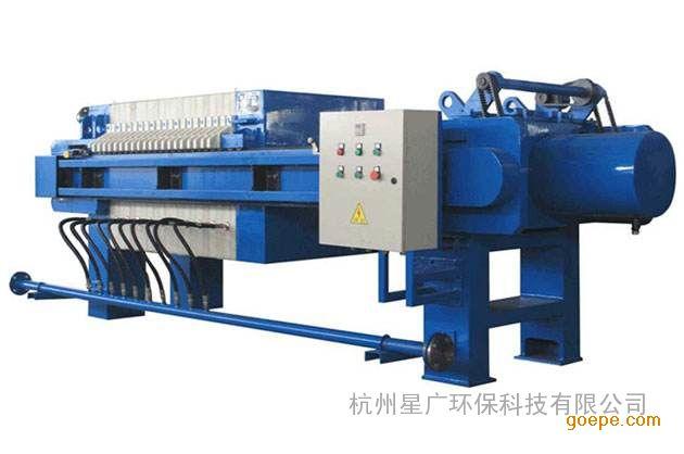 杭州压滤机环保专用设备厂家直销