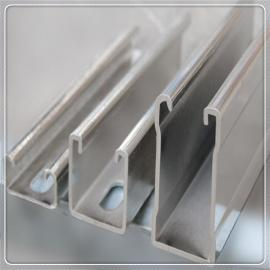 安徽合肥光伏支架镀锌C型钢厂家供应Q235B国标41*41