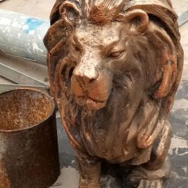东莞仿真动物雕塑厂供应各类仿真动物雕塑 仙鹤雕塑 狮子雕塑批发