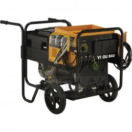 300A柴油发电电焊一体机,移动式发电电焊机价格