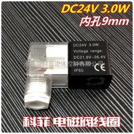 DC24V 3.0W DC21.6V~26.4V ip65