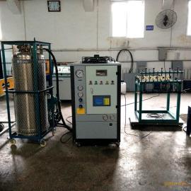一次性爆破管全套灌装机设备价格 二氧化碳充装机