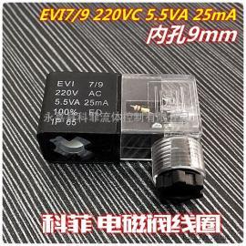 EVI7/9 220VAC 5.5VA 25mA IP65