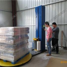 托盘缠绕包装机 提高效率 降低成本 喜鹊托盘缠绕包装机