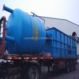 加压式溶气气浮机 新型高效 快速处理污水中的不溶解物质