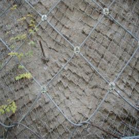 厂家生产绿化TBS包塑、镀锌菱形铁丝网、岩石护坡边坡防护网