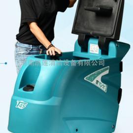特沃斯T55手推式自动洗地吸干机
