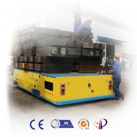 平台车通用设备地轨车10吨预制板搬运车无轨电动平台车