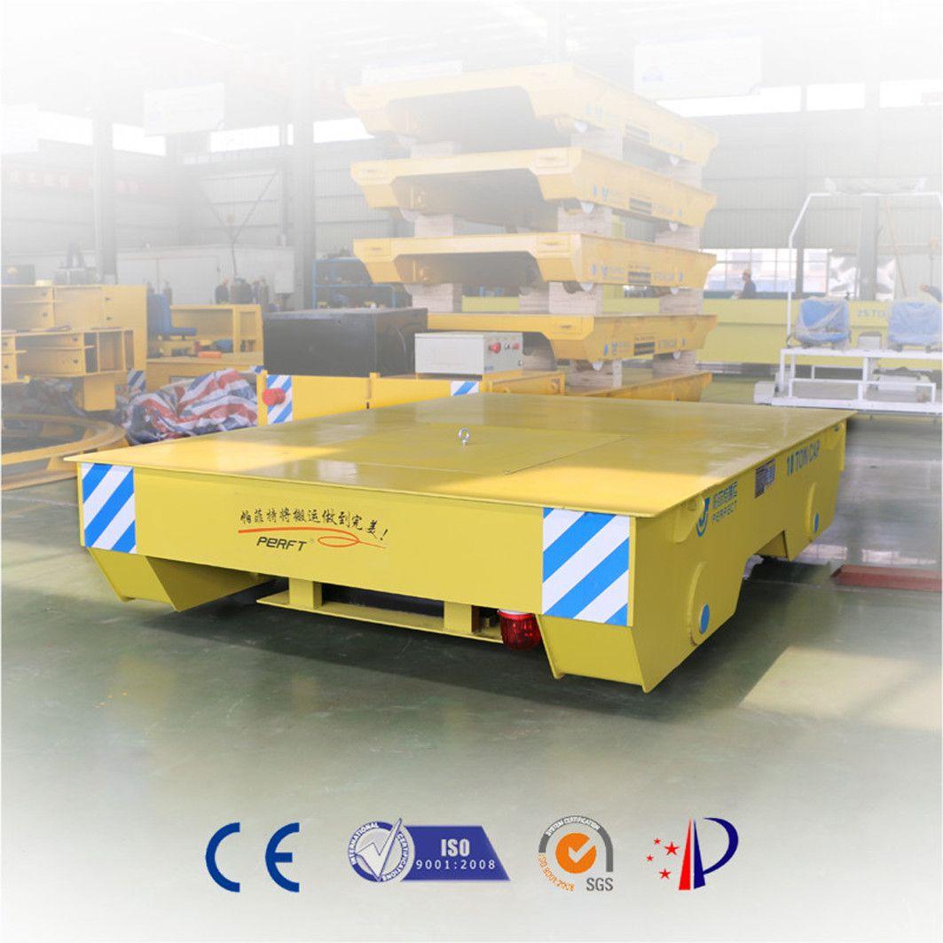 编程控制搬运车自动化转运平板电动轨道车定位车30吨10吨