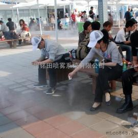 公交站喷雾降温设备厂家,喷雾降温