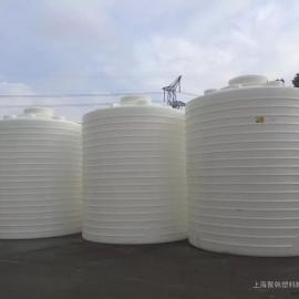 10吨污水处理储存水塔10立方PE塑料耐酸碱污水储罐