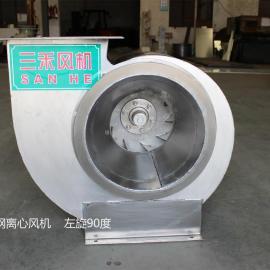 三禾304不锈钢离心风机 化工实验室抽气除臭防腐风机