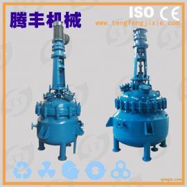100L搪玻璃反应罐/搪瓷反应釜/电加热反应釜/广东反应釜