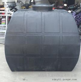 【新品】咸阳5方温室大棚储水罐5吨PE运输储罐卧式水箱
