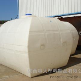 【新品】甘肃5方水溶肥桶5吨卧式液体肥料运输储罐价格