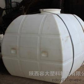 【新品】榆林5方PE盐酸运输罐5吨塑料卧式运输储罐采购