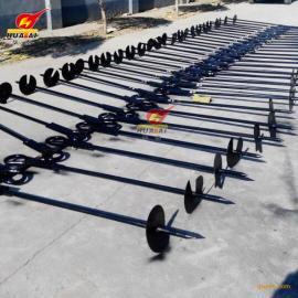 供应 高强度地锚钻 螺旋固定拉线地锚 可承受3T拉力 厂家