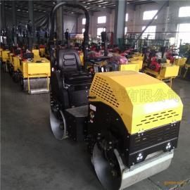 安徽淮南小型振动碾座驾式压路机1吨压路机砾石轧道机生产基地
