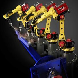 二手全自动焊接机器人 码垛移载机器人 0tc焊接机器人