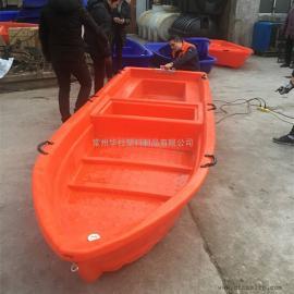 常州4米5米6米塑料渔船双层扑鱼船河道清理船厂家