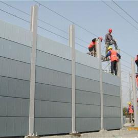 枣庄市厂界声屏障公路隔音板顶部弧形声屏障