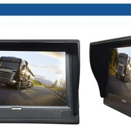 赛威TAM-7035车载监控显示器 内置 画面四分割 高清车载监视器
