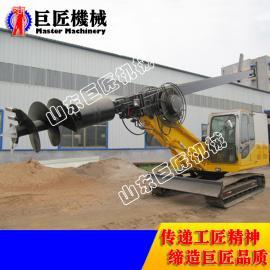 大功率履带式旋挖钻机厂家 15米小型旋挖钻机扭矩强