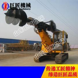 20米履带式旋挖钻机现货直供 巨匠小型打桩机可定制