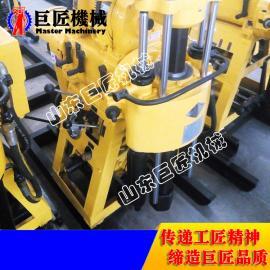 柴油动力全液压水井钻机 巨匠HZ-130Y型小型打井机直销