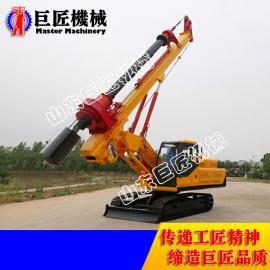 华夏巨匠XWDJ-25履带机锁杆旋挖钻机 基建工程利器