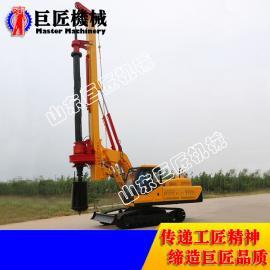 XWDJ-30履带机锁杆旋挖钻机 巨匠30米入岩型打桩机