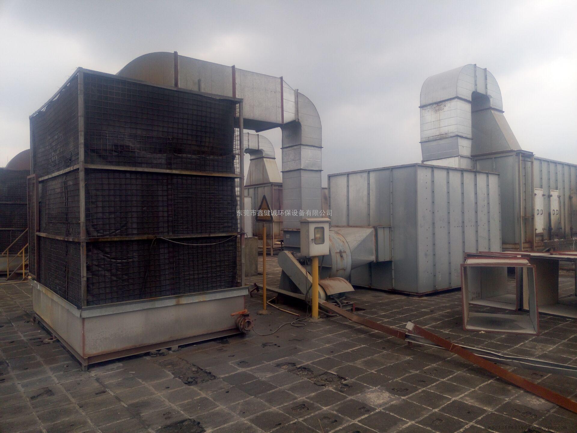 供应喷涂废气净化处理设备