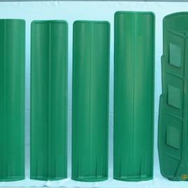 河北淮方玻璃钢防眩板 抗腐蚀玻璃钢树叶型防眩板定制