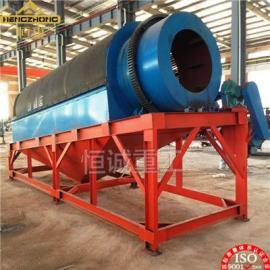 四川绵阳沙金滚筒筛分机产量大XGT1545滚筒筛价格