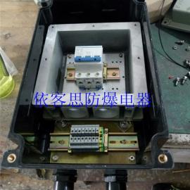 防爆防腐电动葫芦隔离开关箱焚烧系统配电专用