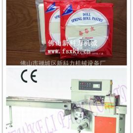 薄脆包装机-薄脆皮包装机-袋状薄脆皮主动包装机
